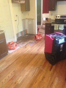 Drying Up Property From Water Damage